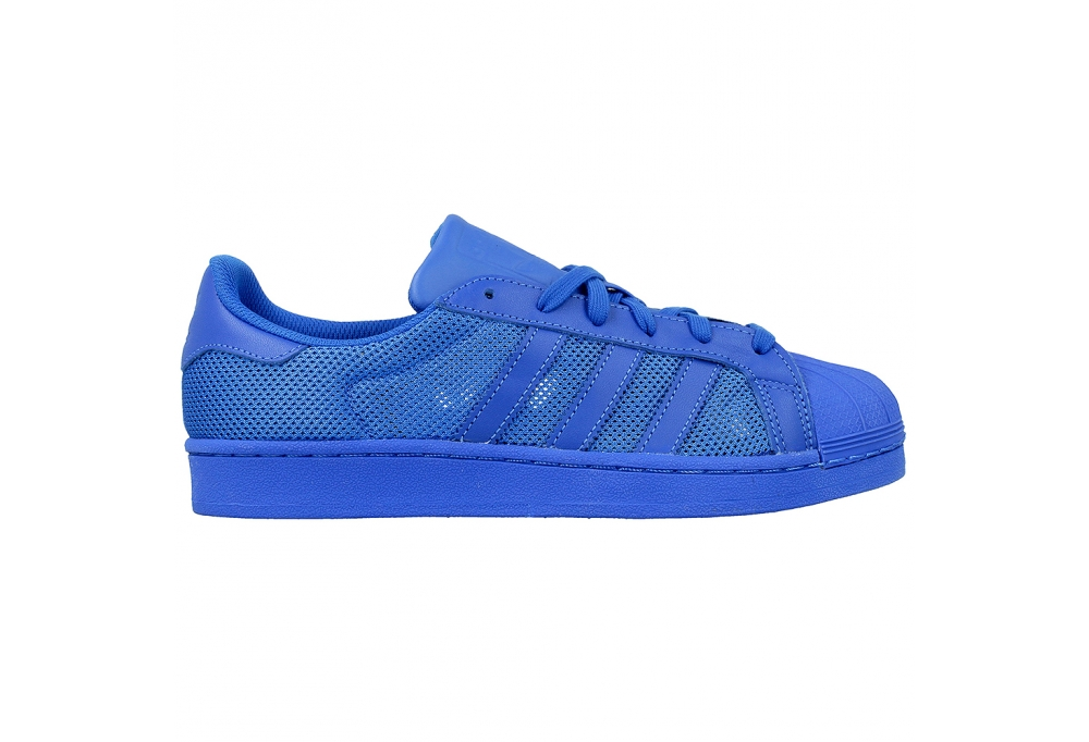 SCARPE N. 43 1/3 UK 9 ADIDAS ORIGINALS SUPERSTAR ART. B42619 BLUE