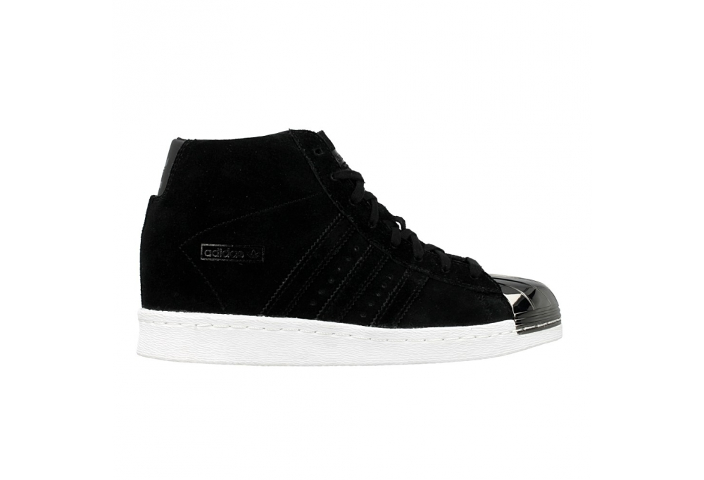 adidas SUPERSTAR UP Core Black/White/Gold Hype DC