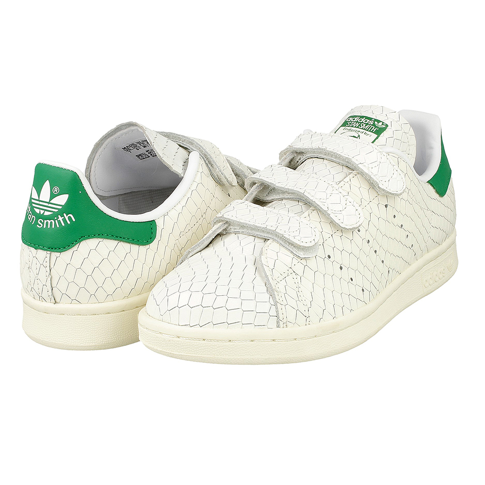 adidas stan smith cf w s32171 white green en. Black Bedroom Furniture Sets. Home Design Ideas