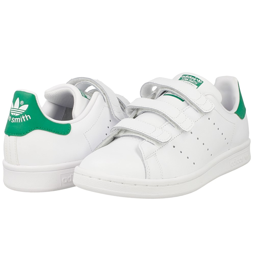 adidas stan smith cf j s82702 white green en. Black Bedroom Furniture Sets. Home Design Ideas