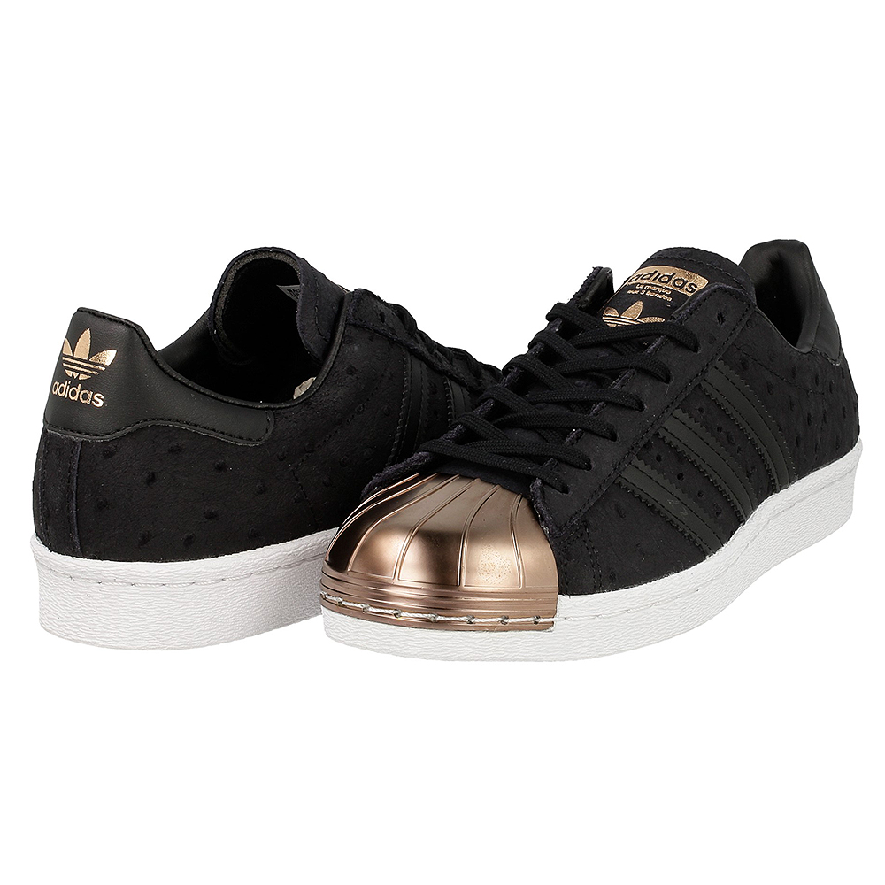 adidas superstar 80s metal toe w s76712 brown black en. Black Bedroom Furniture Sets. Home Design Ideas