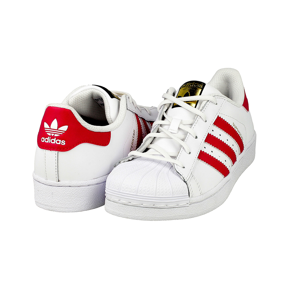 Cheap Adidas Originals Men's Superstar Animal Shoe, Red