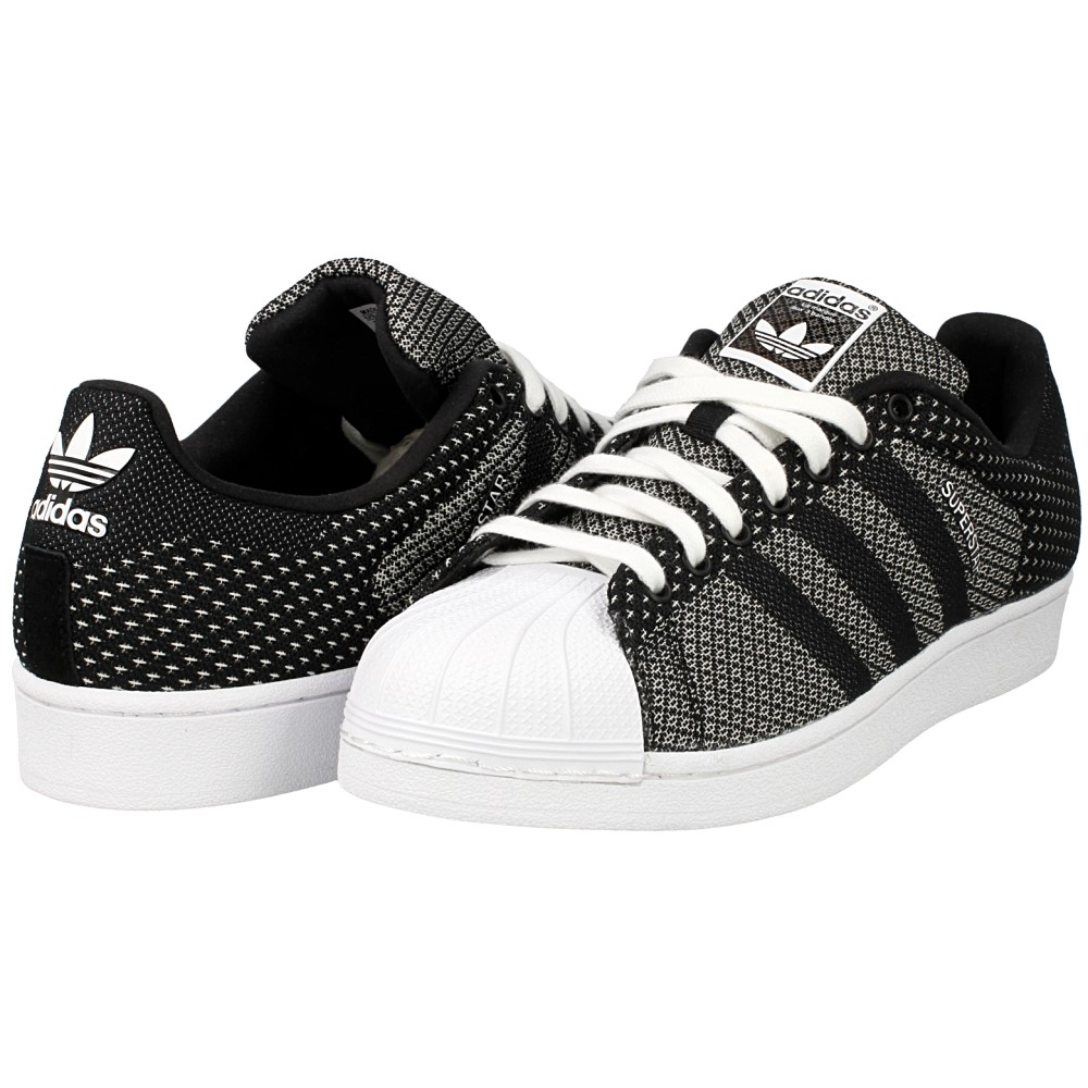 Adidas Superstar Weave Black White