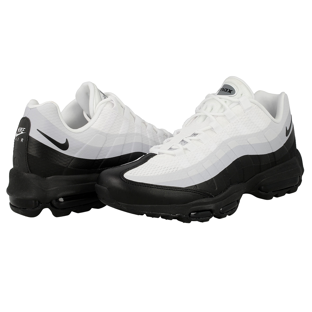 nike air max 95 ultra essential 857910 100 white black. Black Bedroom Furniture Sets. Home Design Ideas