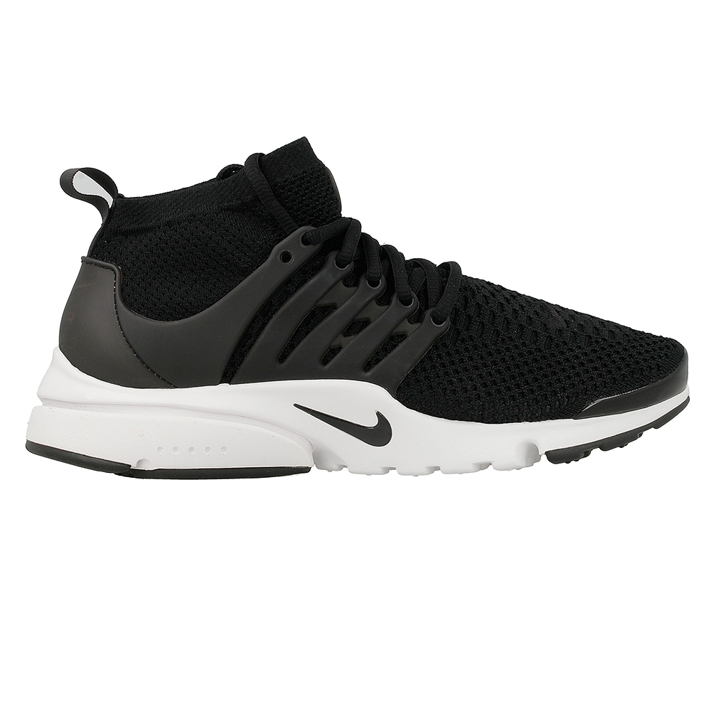 nike air presto flyknit ultra 835570 001 white black. Black Bedroom Furniture Sets. Home Design Ideas