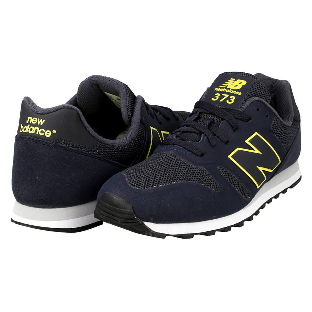 new balance 373 grey yellow