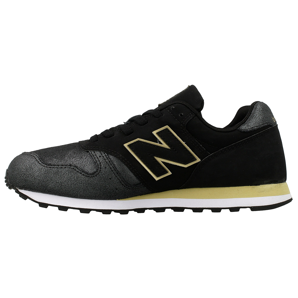 new balance black and gold 373