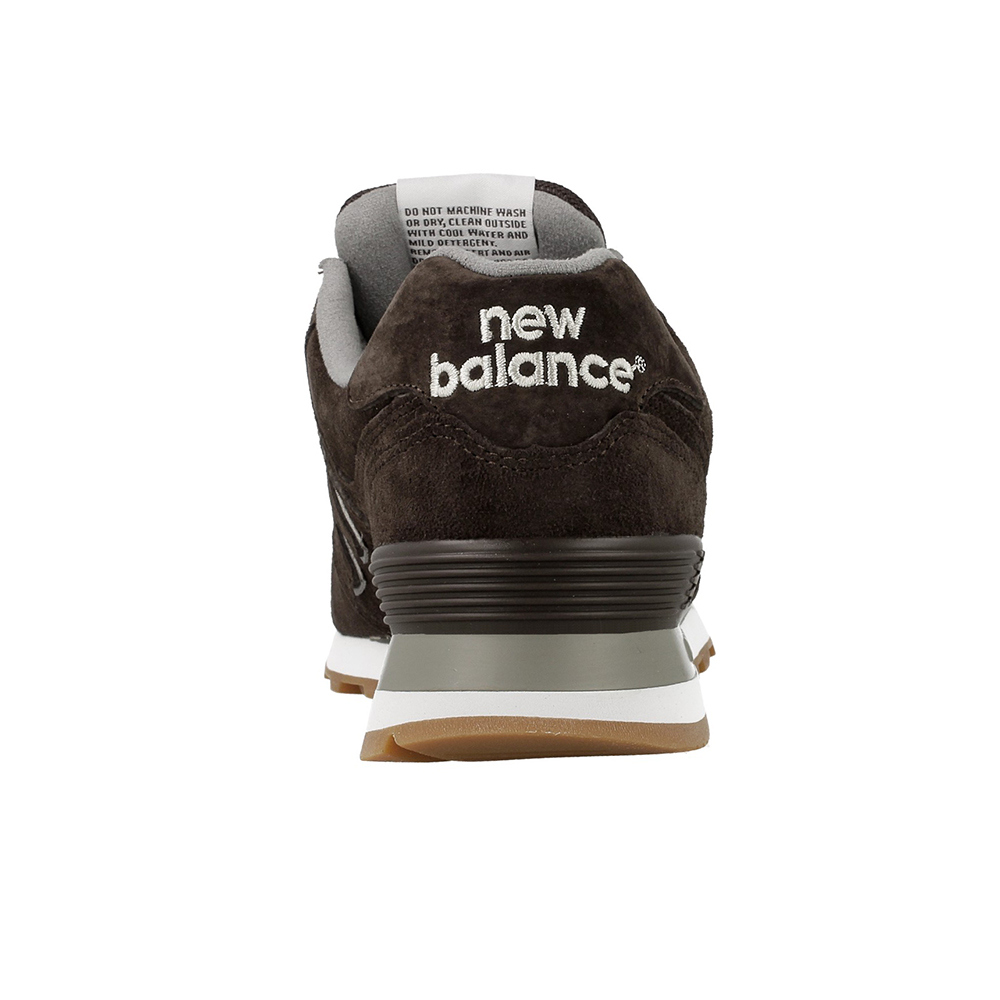 new balance 574 brown suede
