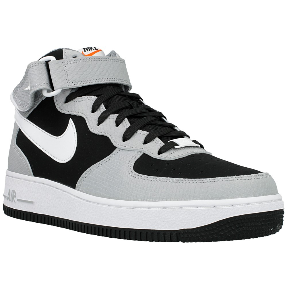 nike air force 1 mid 07 315123 024 white black grey en. Black Bedroom Furniture Sets. Home Design Ideas
