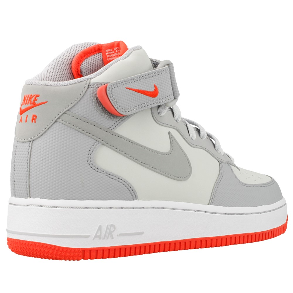 nike air force 1 mid 07 315123 030 orange grey en. Black Bedroom Furniture Sets. Home Design Ideas