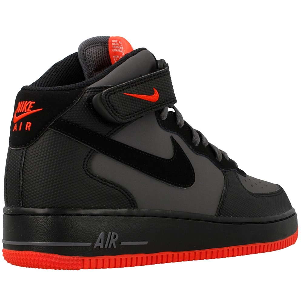 nike air force 1 mid schwarz. Black Bedroom Furniture Sets. Home Design Ideas