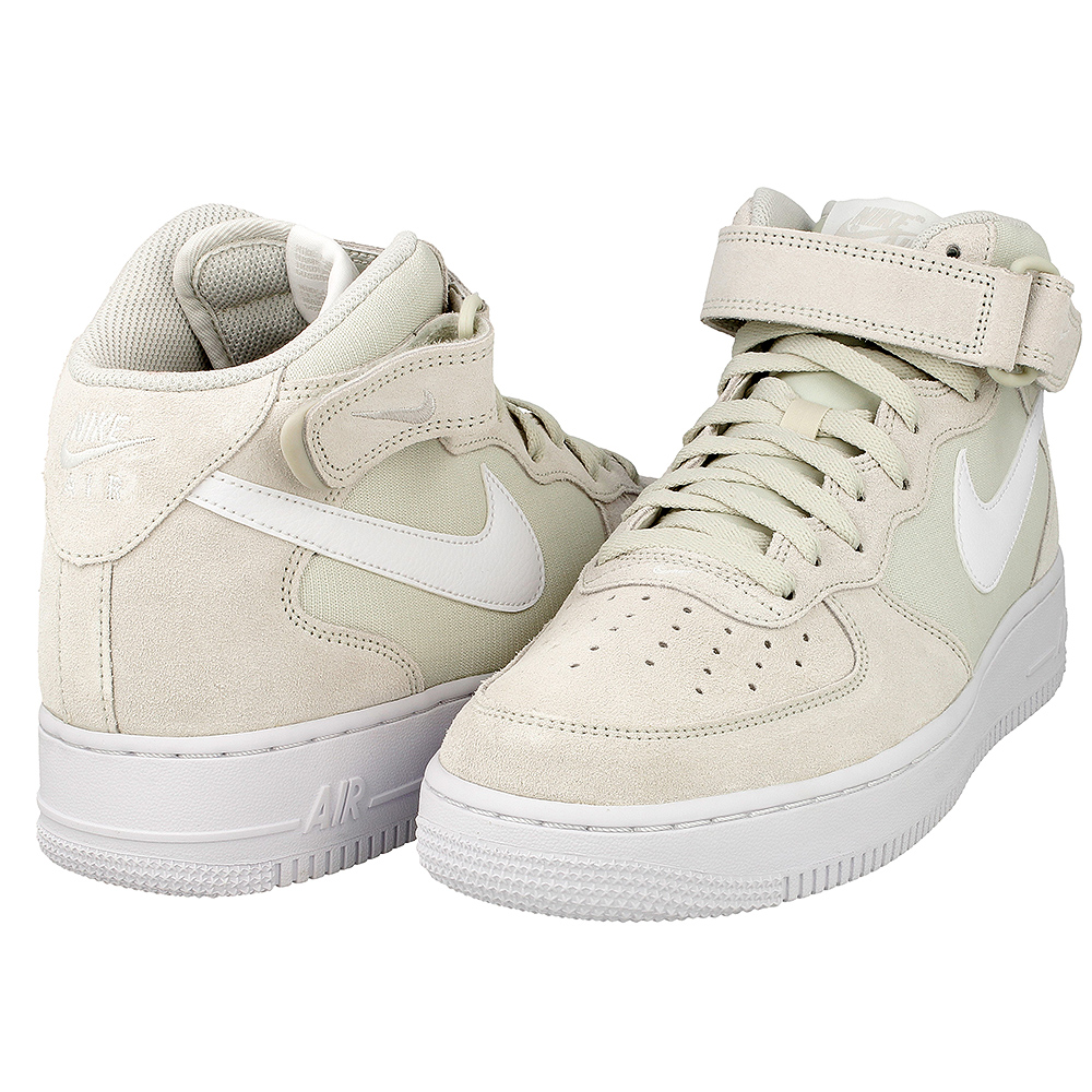 nike air force 1 mid 07 315123 034 beige white en. Black Bedroom Furniture Sets. Home Design Ideas