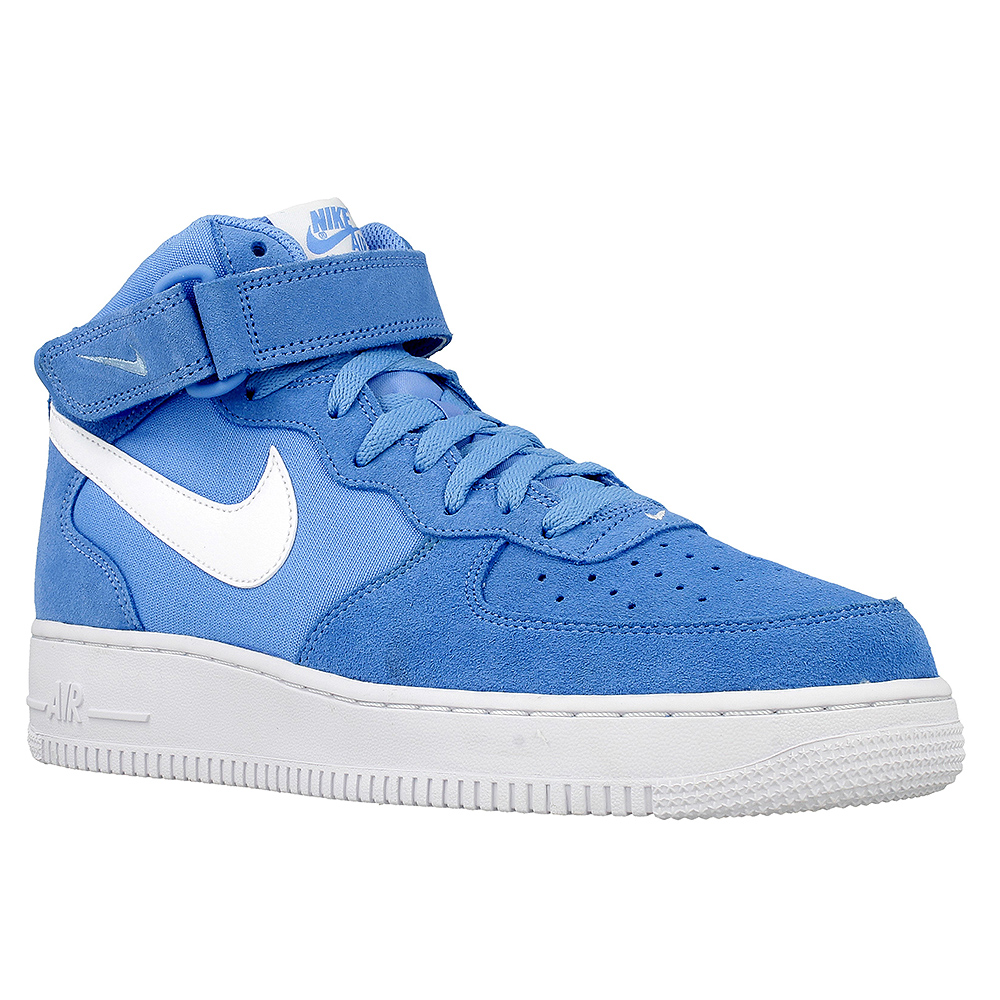 nike air force 1 mid 07 315123 409 white blue en. Black Bedroom Furniture Sets. Home Design Ideas