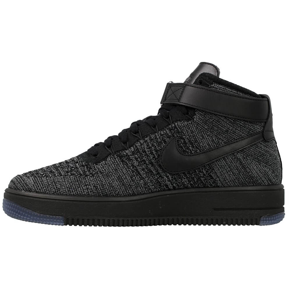 Nike Air Force 1 Grau Schwarz