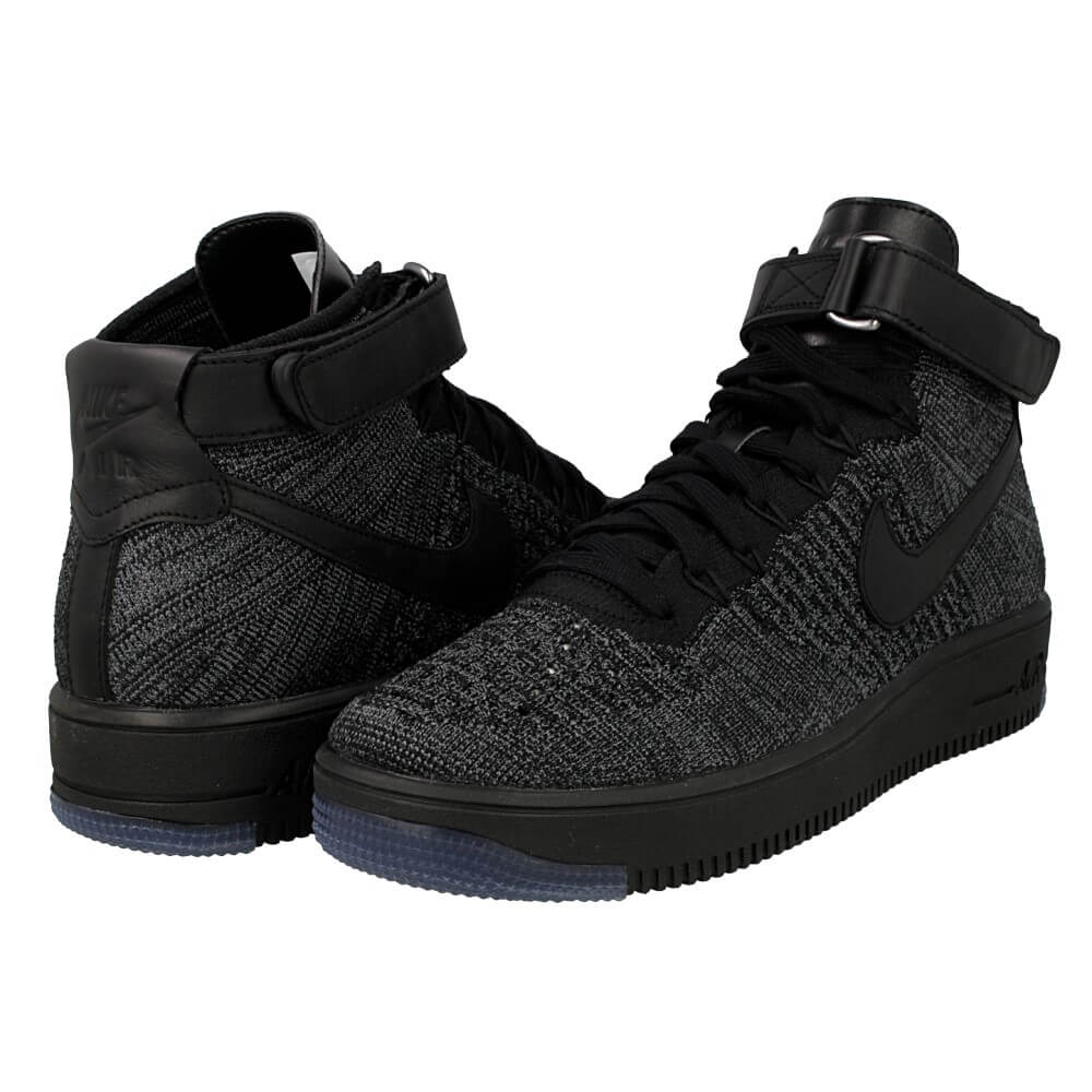 Nike Air Force Flyknit Schwarz