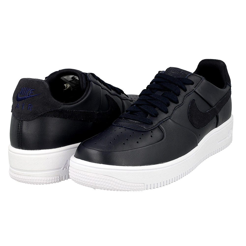nike air force 1 ultraforce lthr 845052 401 dark blue. Black Bedroom Furniture Sets. Home Design Ideas