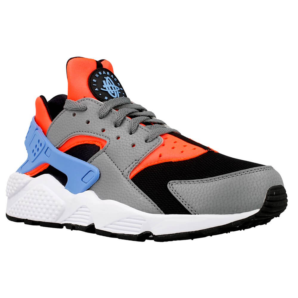 nike air huarache 318429 602 black blue orange grey. Black Bedroom Furniture Sets. Home Design Ideas