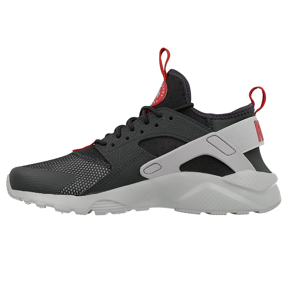 nike air huarache run ultra gs 847569 005 red grey en. Black Bedroom Furniture Sets. Home Design Ideas
