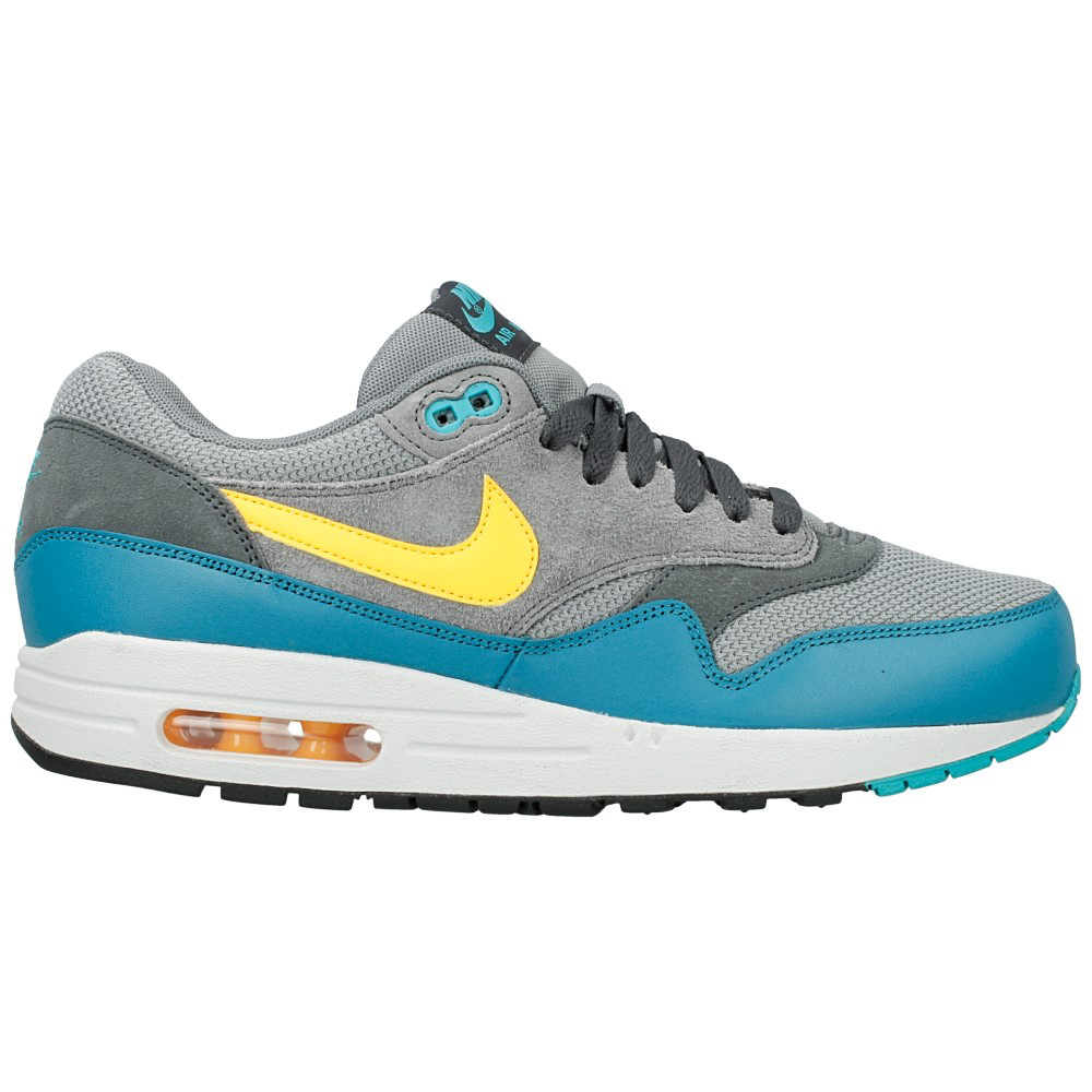 nike air max 1 essential 537383 018 blue grey yellow en. Black Bedroom Furniture Sets. Home Design Ideas