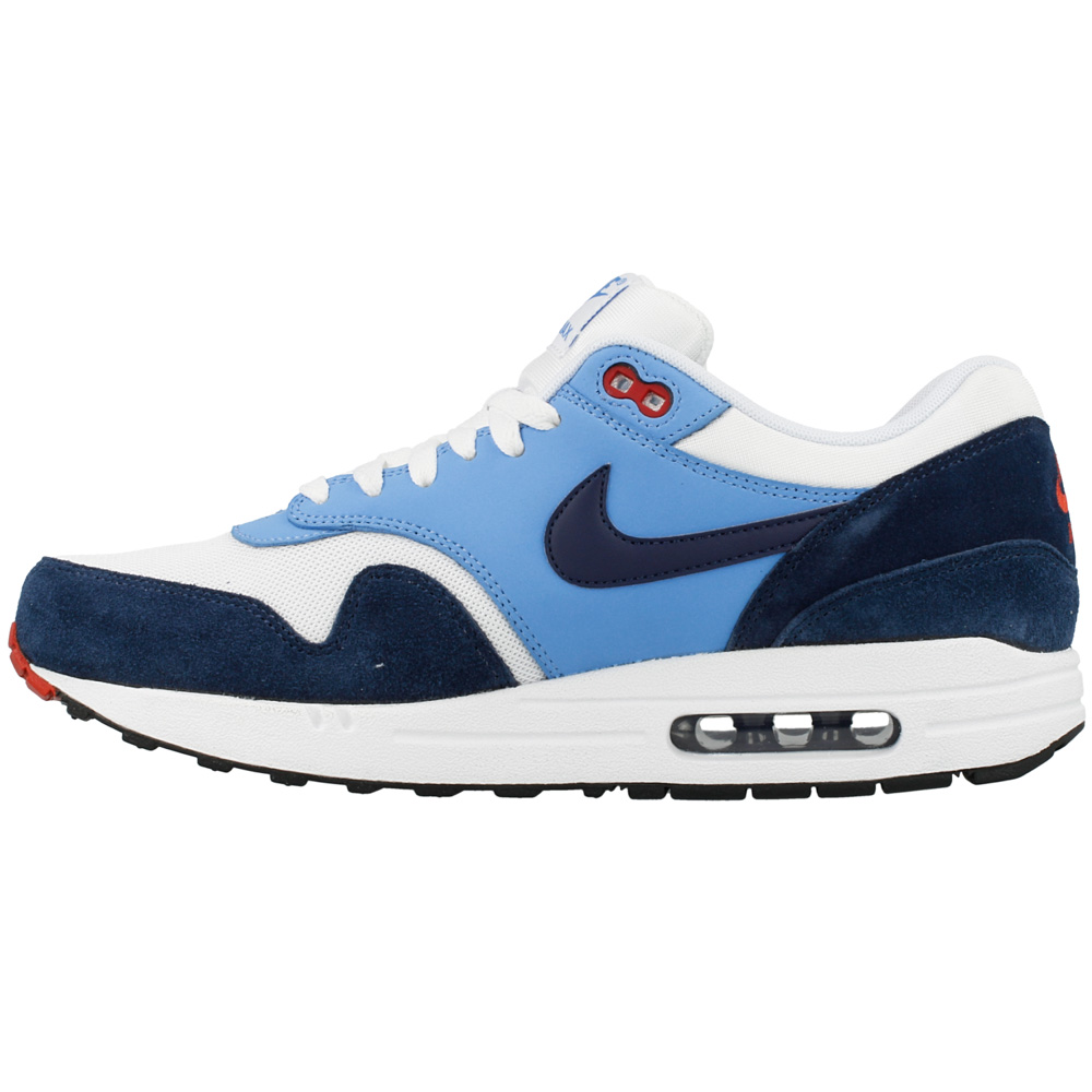 nike air max 1 essential 537383 119 white dark blue. Black Bedroom Furniture Sets. Home Design Ideas