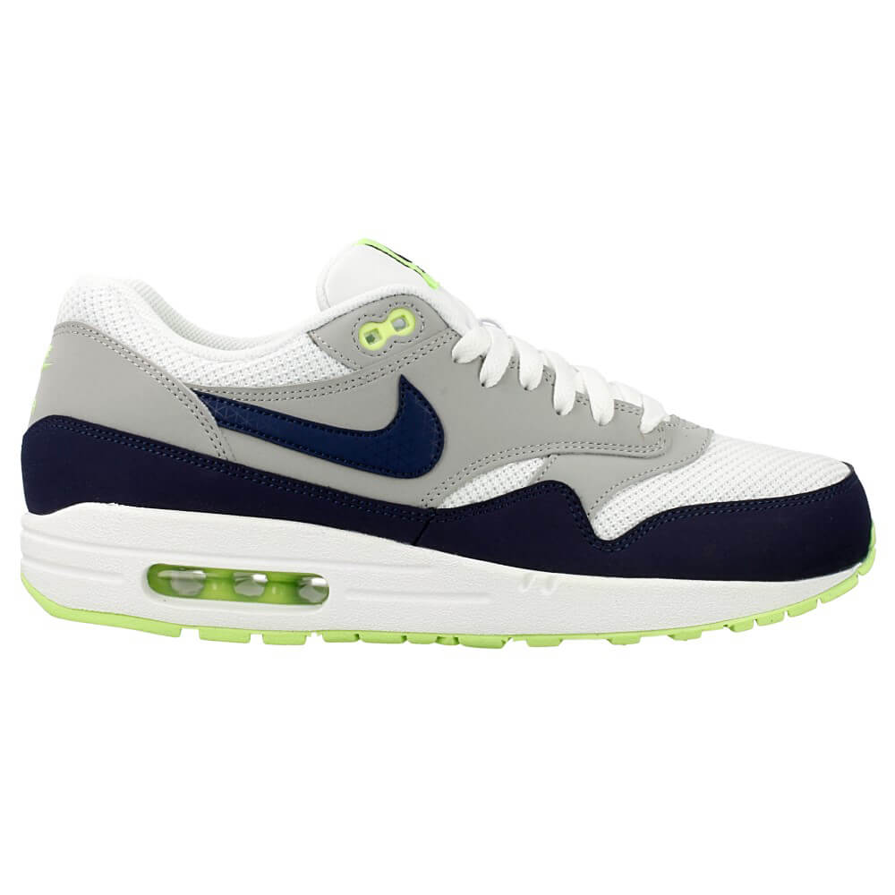 nike air max 1 essential 537383 140 white dark blue grey green en. Black Bedroom Furniture Sets. Home Design Ideas