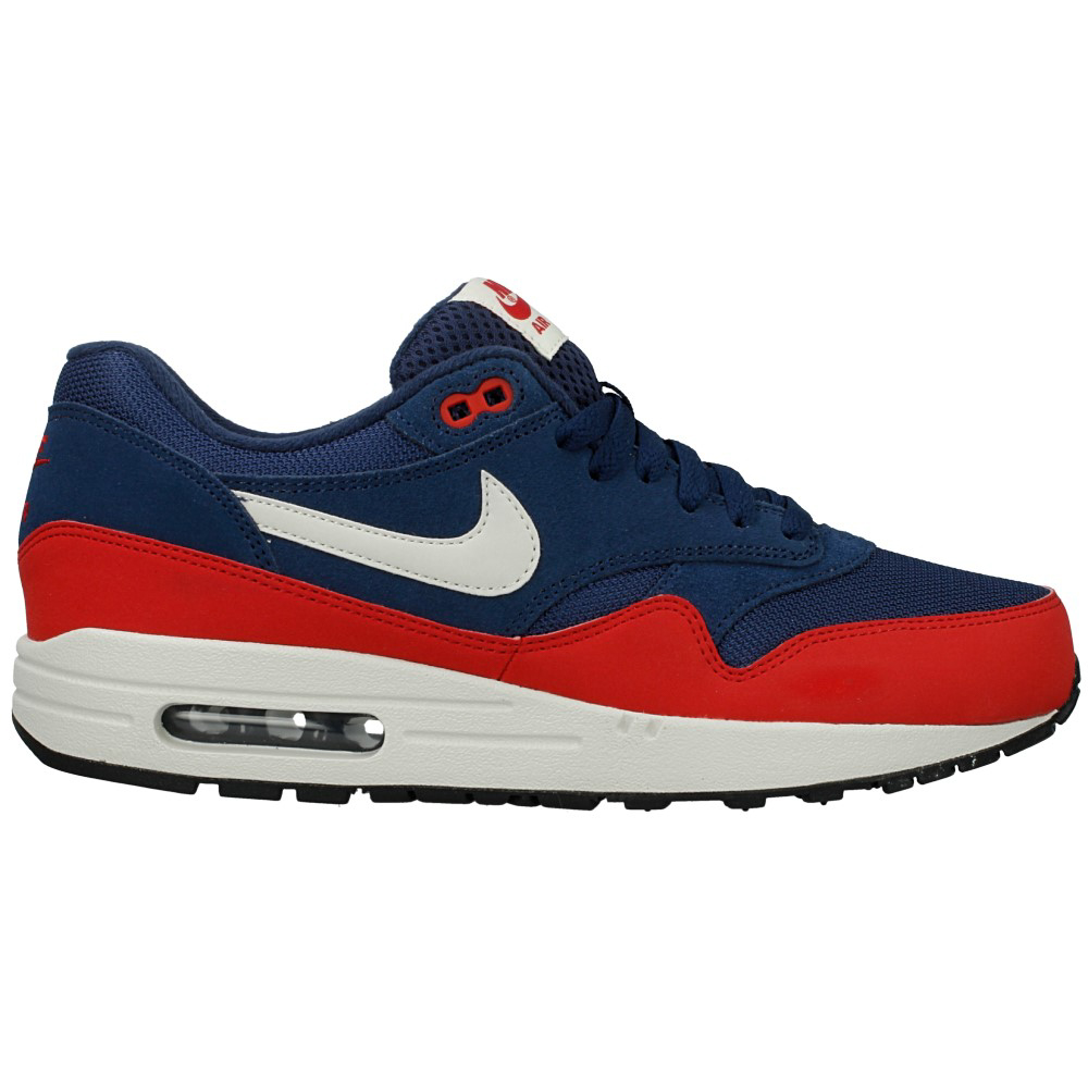 nike air max 1 essential 537383 400 red dark blue en. Black Bedroom Furniture Sets. Home Design Ideas