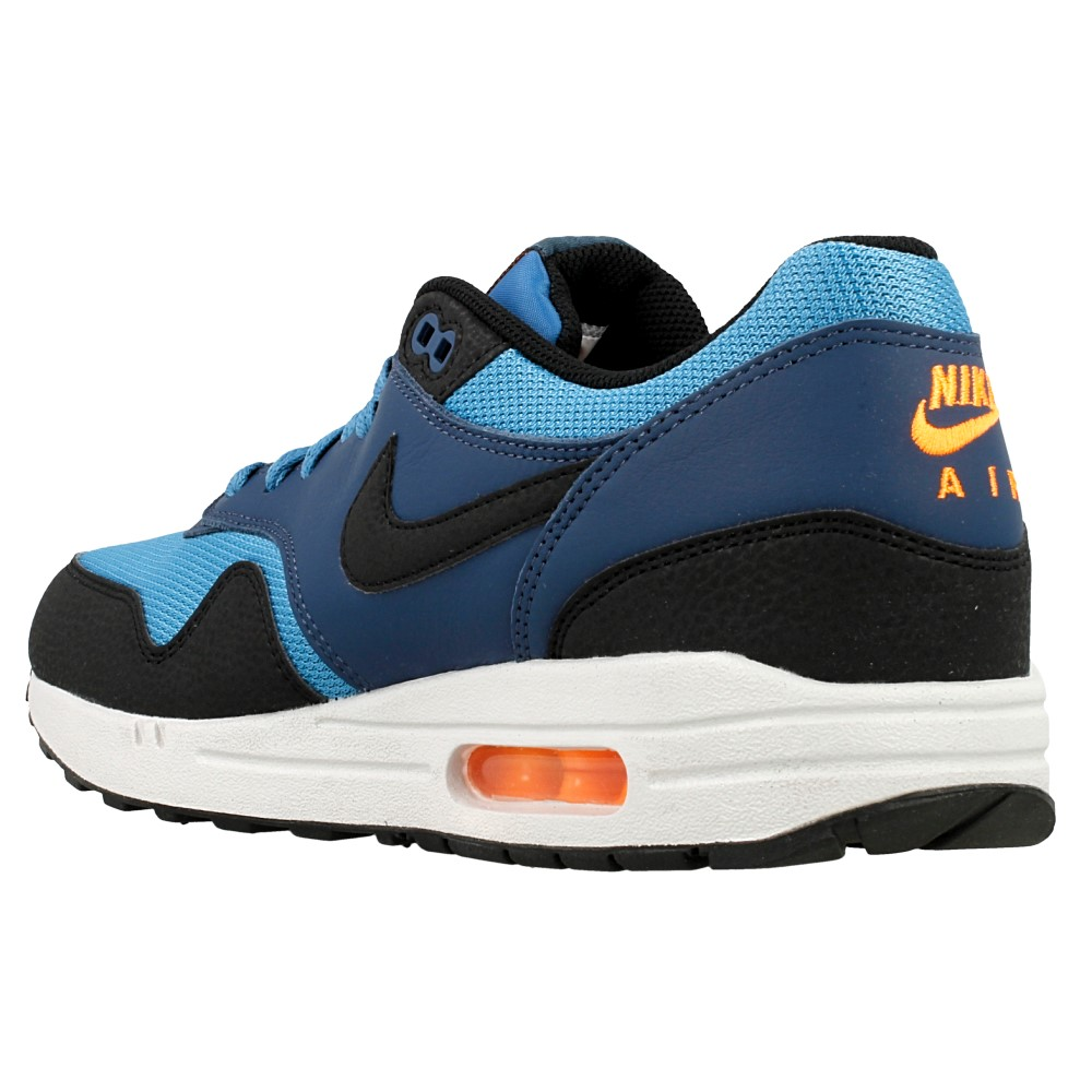 nike air max 1 essential 537383 402 black blue en. Black Bedroom Furniture Sets. Home Design Ideas