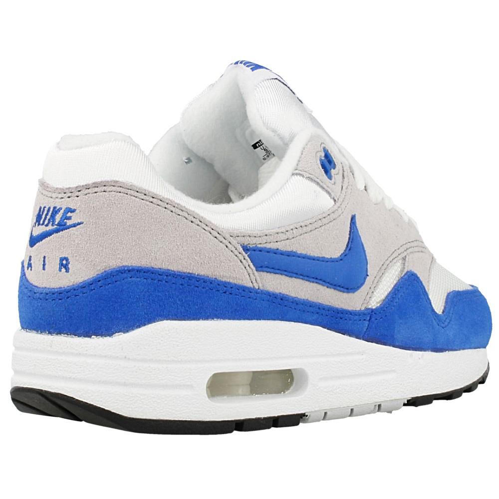 nike air max 1 gs 555766 147 white blue grey en. Black Bedroom Furniture Sets. Home Design Ideas