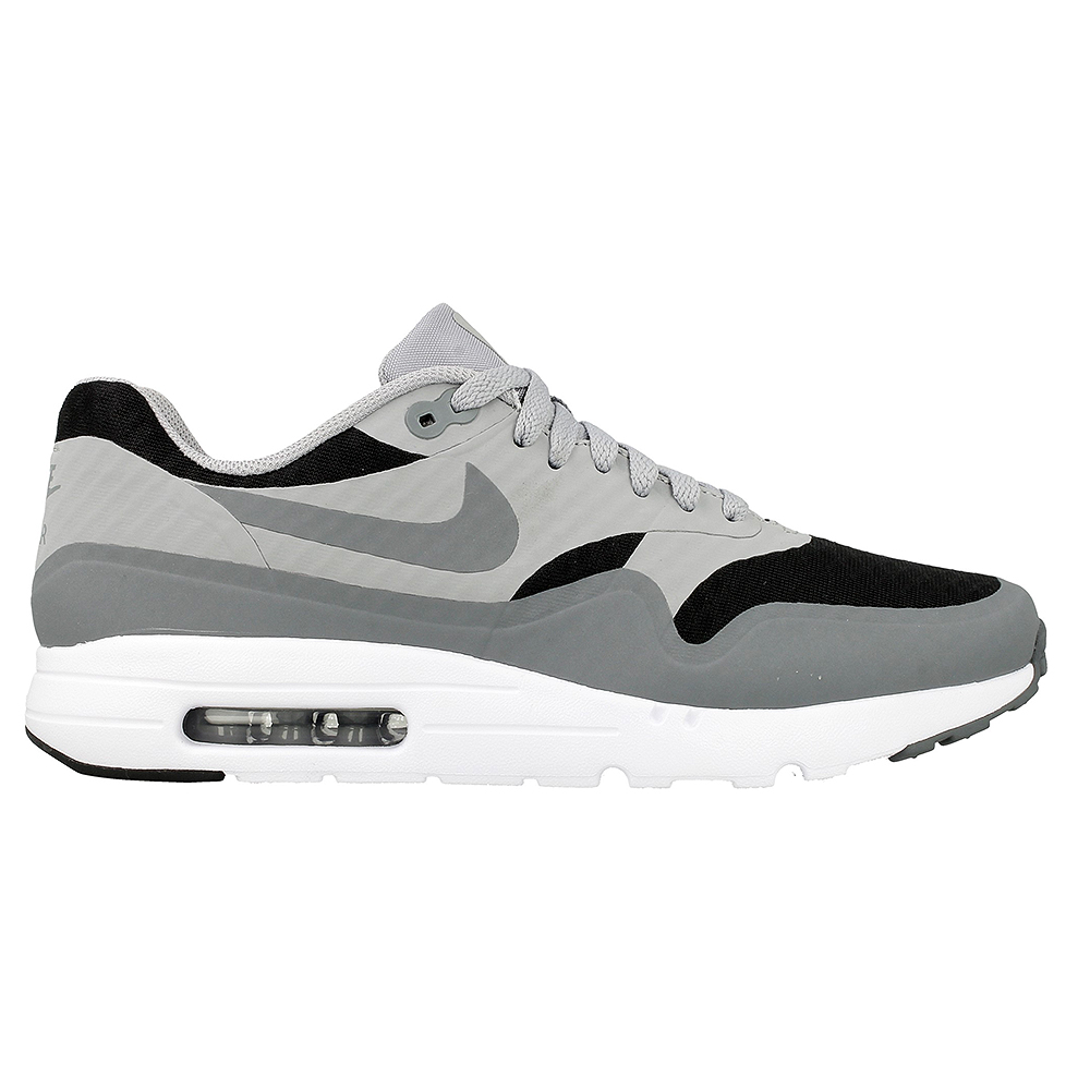 nike air max 1 ultra essential 819476 008 black grey. Black Bedroom Furniture Sets. Home Design Ideas
