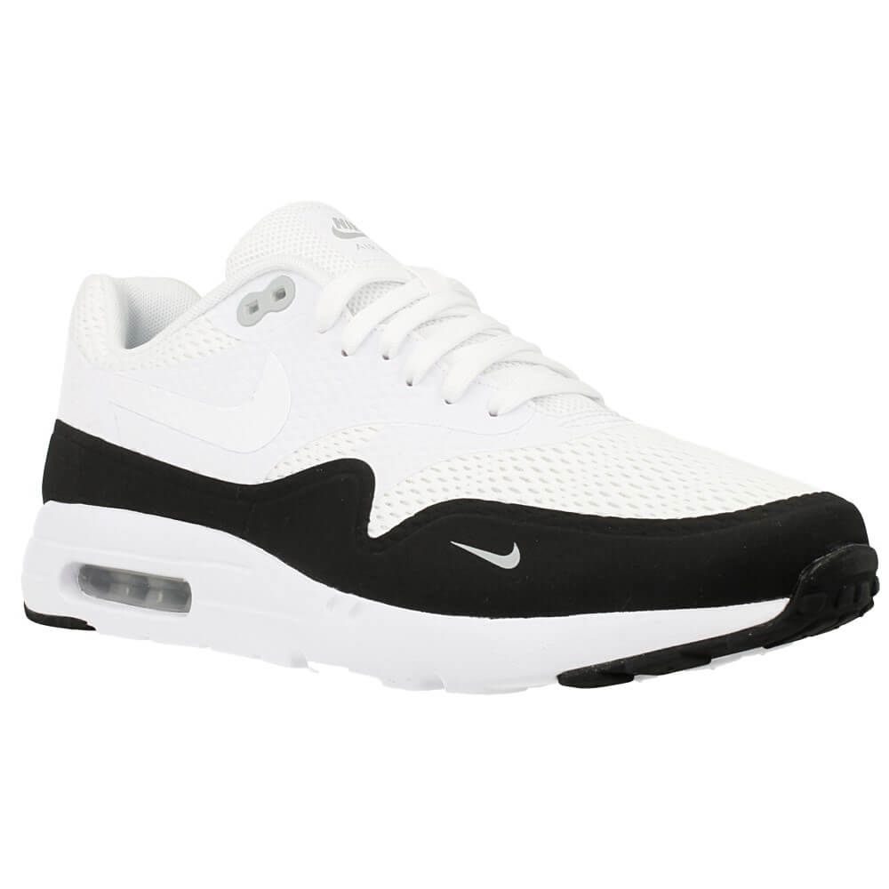 nike air max 1 ultra essential 819476 101 white black en. Black Bedroom Furniture Sets. Home Design Ideas