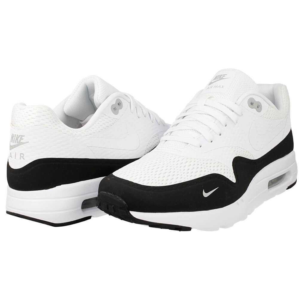 nike air max 1 ultra essential 819476 101 white black. Black Bedroom Furniture Sets. Home Design Ideas