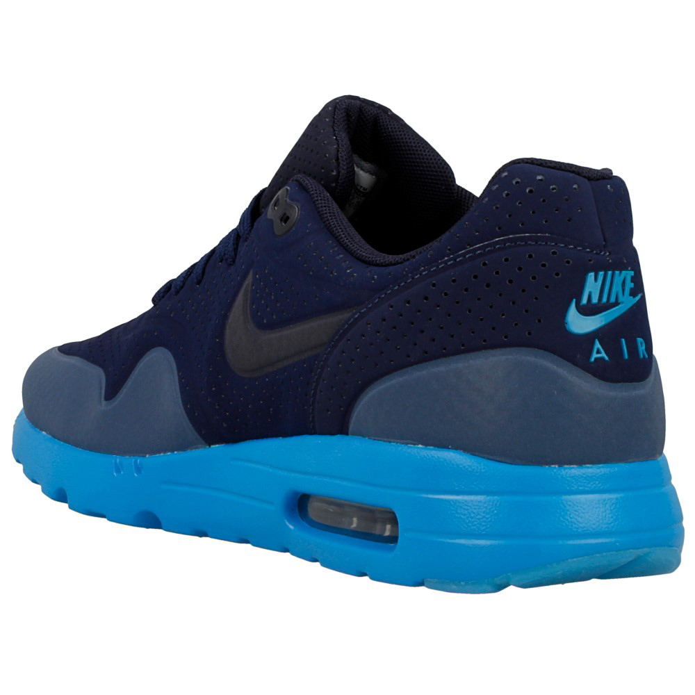 nike air max 1 ultra moire 705297 400 dark blue blue. Black Bedroom Furniture Sets. Home Design Ideas