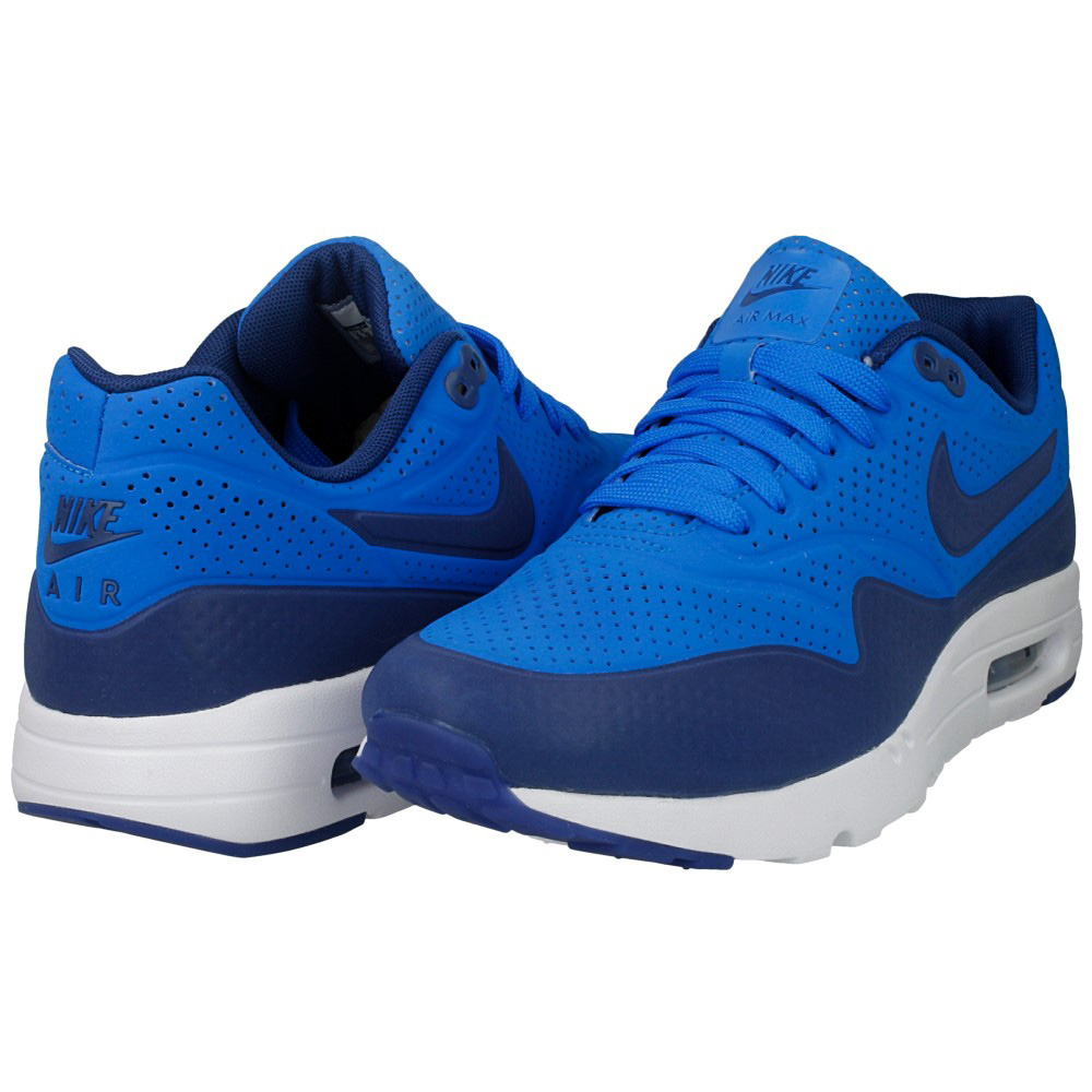 nike air max 1 ultra moire 705297 401 dark blue blue. Black Bedroom Furniture Sets. Home Design Ideas