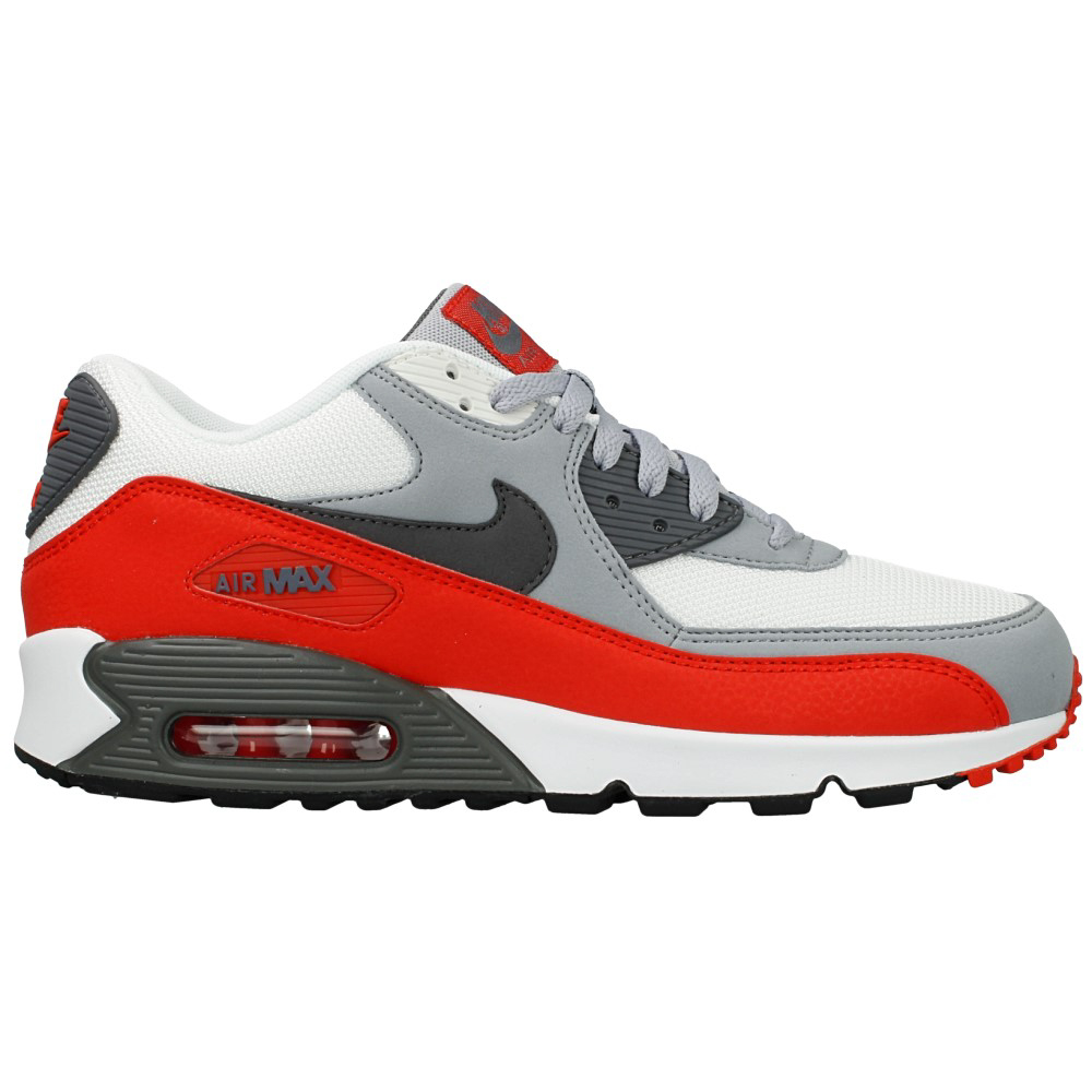 nike air max 90 essential 537384 039 white red grey en. Black Bedroom Furniture Sets. Home Design Ideas