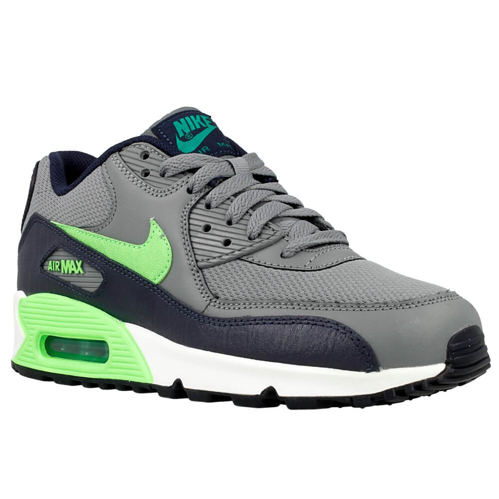 nike air max 90 mesh gs 724824 013 dark blue grey. Black Bedroom Furniture Sets. Home Design Ideas