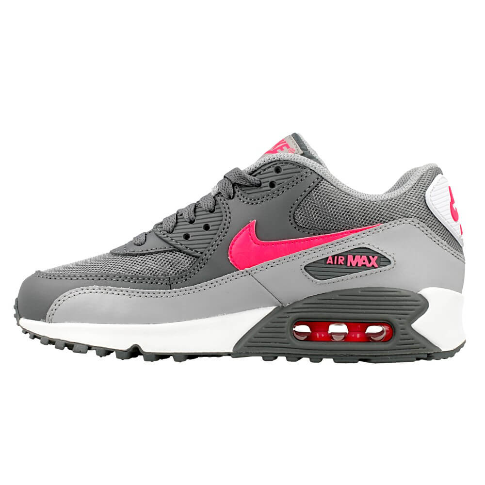 nike air max 90 mesh gs 724855 007 pink grey en. Black Bedroom Furniture Sets. Home Design Ideas