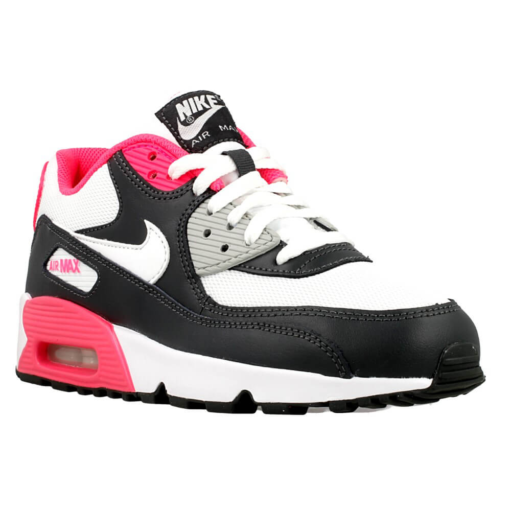 nike air max 90 mesh gs 833340 001 white pink en. Black Bedroom Furniture Sets. Home Design Ideas