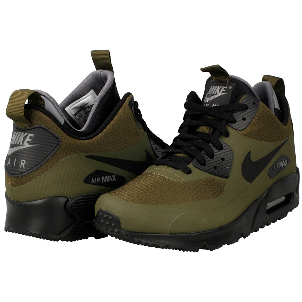 nike air max 90 mid winter 806808 300 green en. Black Bedroom Furniture Sets. Home Design Ideas