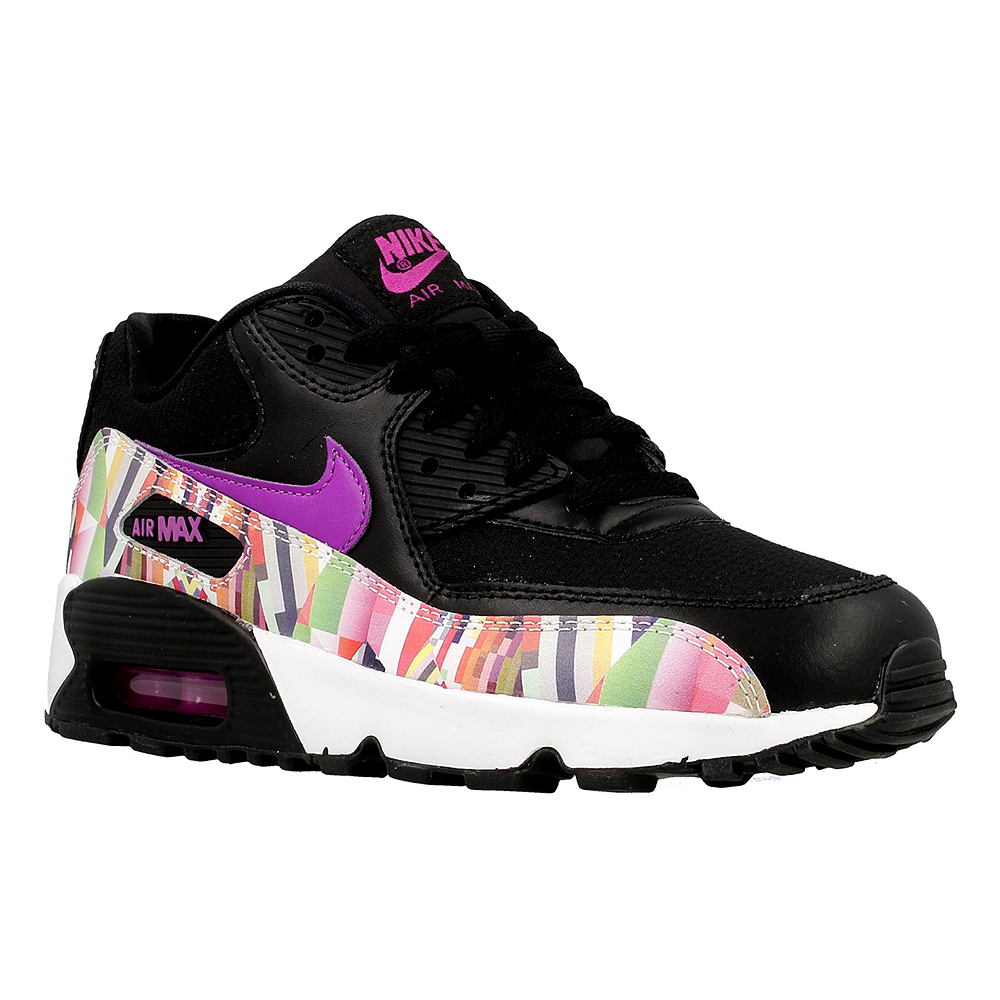new product 89d6c 9a52f Nike Air Max 90 Print Mesh GS 833497-001 .