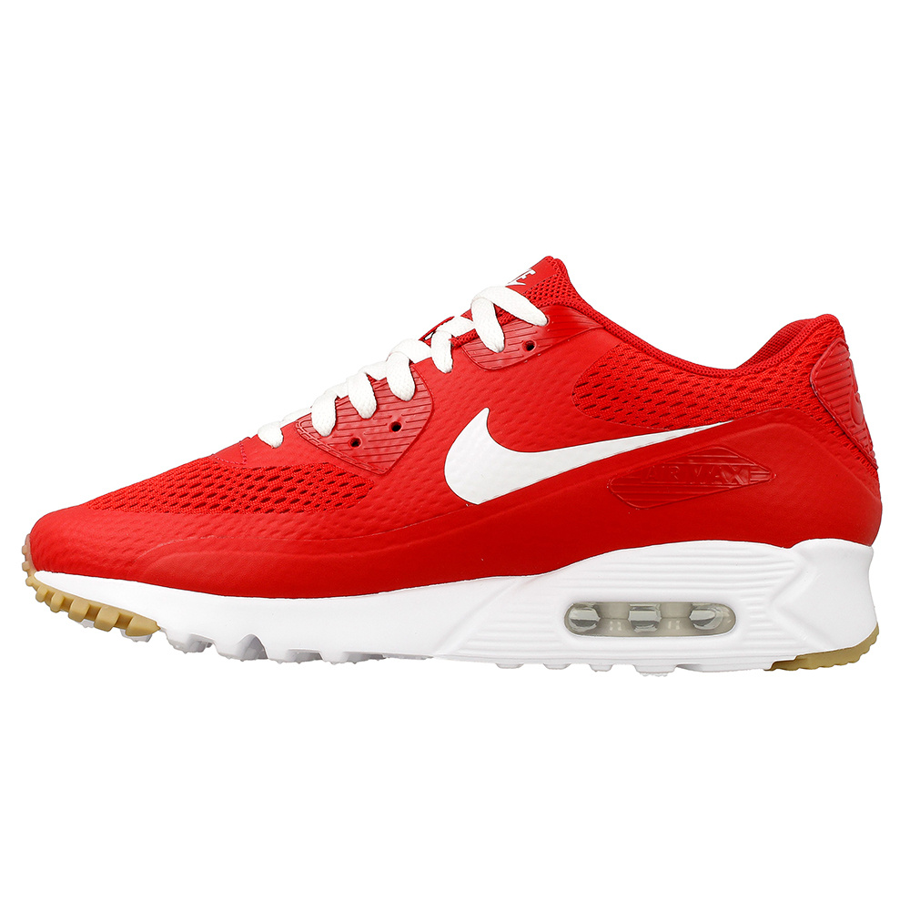 nike air max 90 ultra essential 819474 601 white red. Black Bedroom Furniture Sets. Home Design Ideas