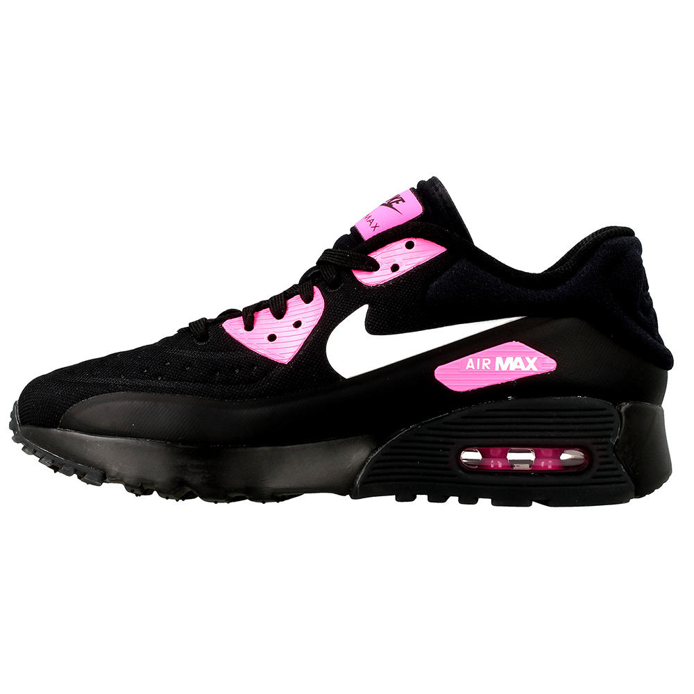 nike air max 90 ultra se gs 844600 004 white black pink en. Black Bedroom Furniture Sets. Home Design Ideas