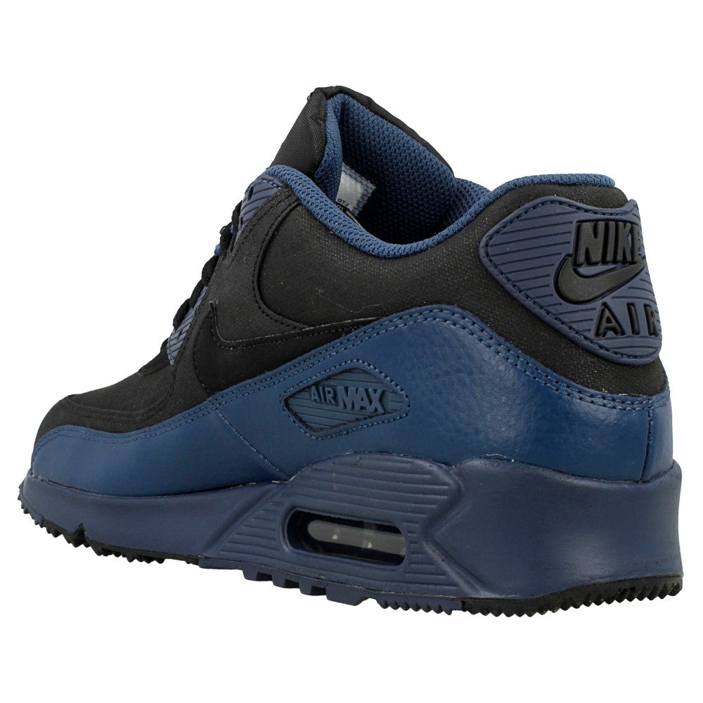 nike air max 90 winter prm 683282 404 black blue en. Black Bedroom Furniture Sets. Home Design Ideas
