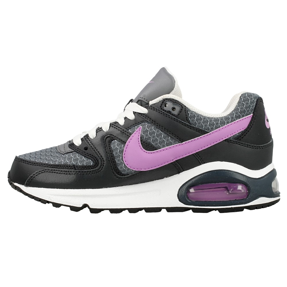 nike air max command gs 407626 059 black purple grey. Black Bedroom Furniture Sets. Home Design Ideas