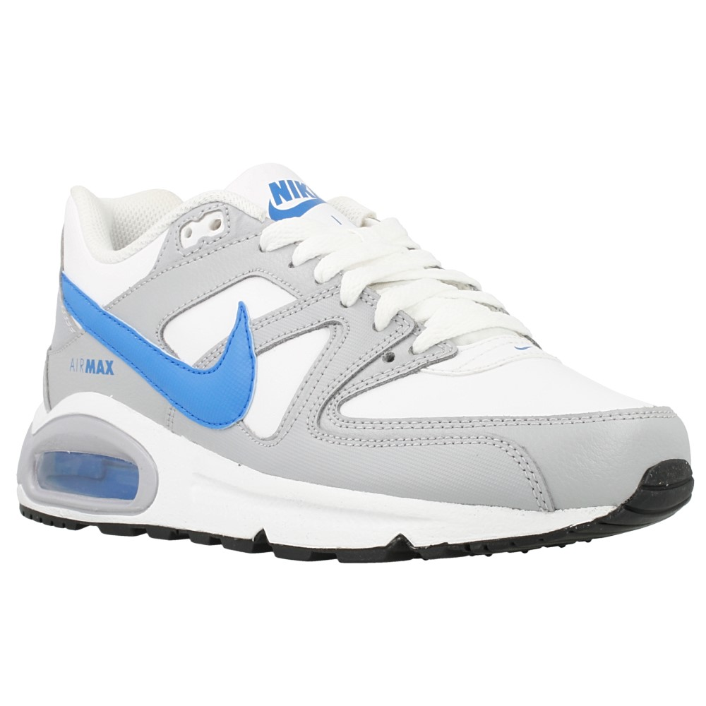 nike air max command ltr gs 705246 140 white blue grey en. Black Bedroom Furniture Sets. Home Design Ideas