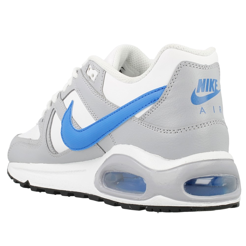 nike air max command ltr gs 705246 140 white blue grey. Black Bedroom Furniture Sets. Home Design Ideas