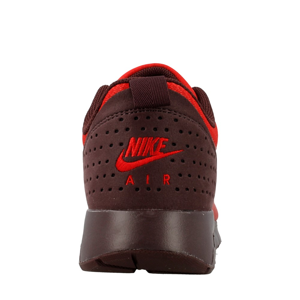 nike air max tavas black and red