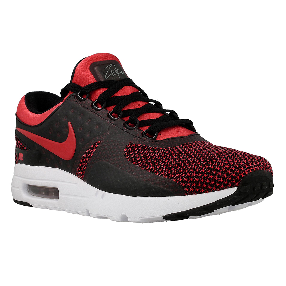 nike air max zero essential 876070 600 black red en. Black Bedroom Furniture Sets. Home Design Ideas