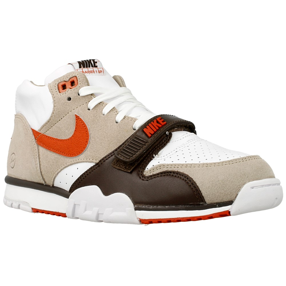 nike air trainer 1 mid sp fragment 806942 282 beige. Black Bedroom Furniture Sets. Home Design Ideas