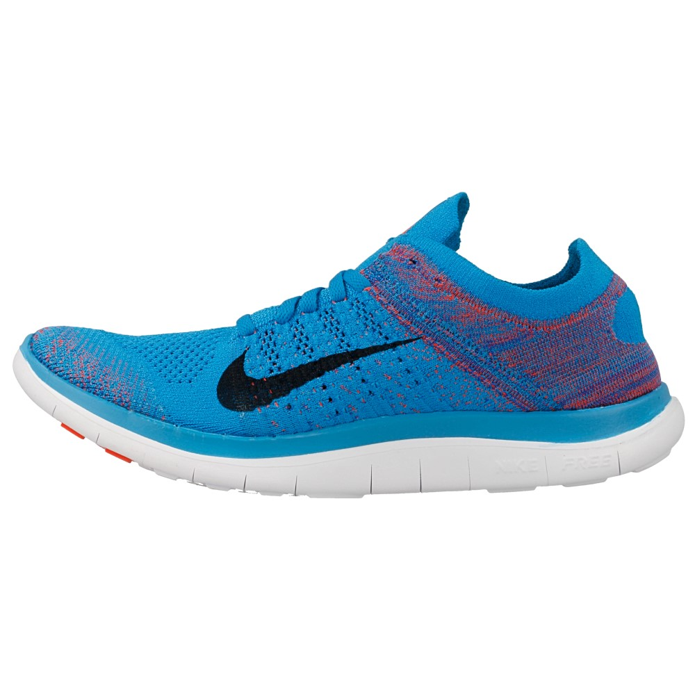 nike free 4 0 flyknit 631053 403 black blue en. Black Bedroom Furniture Sets. Home Design Ideas