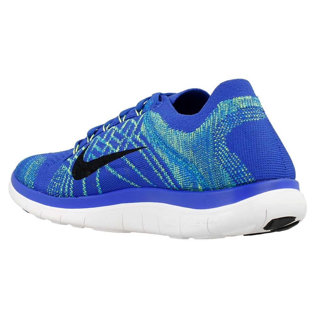 nike free 4 0 flyknit 717075 400 blue en. Black Bedroom Furniture Sets. Home Design Ideas